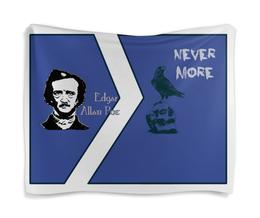 """Гобелен 180х145 """"Эдгар По, «Ворон» (Edgar Poe, The Raven)"""" - череп, ворон, nevermore, edgar allan poe, эдгар аллан по"""