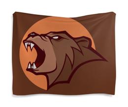 "Гобелен 180х145 ""Bear / Медведь"" - арт, животные, bear, медведь"
