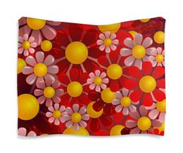 """Гобелен 180х145 """"Ромашки"""" - красиво, цветы, ярко, природа, ромашки"""