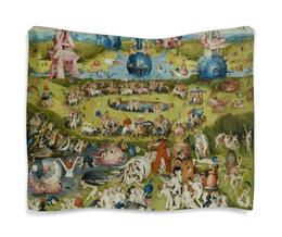 "Гобелен 180х145 ""Сад земных наслаждений"" - картина, сад, искусство, босх"
