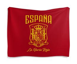 """Гобелен 180х145 """"Сборная Испании"""" - футбол, испания, сборная испании, сборная испании по футболу, команда испании"""