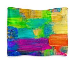 """Гобелен 180х145 """"Мазок маляра."""" - картина, абстракция, искуство, яркие краски"""