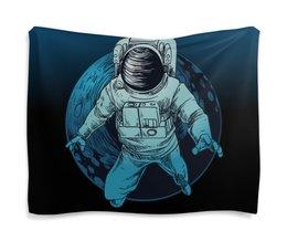 "Гобелен 180х145 ""Покоряя мир"" - звезды, космос, наука, астрономия, the spaceway"