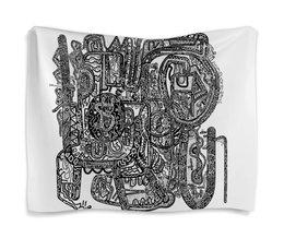 "Гобелен 180х145 ""Петрушкин Лабиринт"" - арт, узор, абстракция, фигуры, текстура"