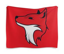 "Гобелен 180х145 ""Fox / Лиса"" - лиса, животные, лес, fox, red fox"