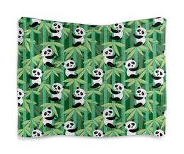 "Гобелен 180х145 ""Жизнь панд"" - узор, животные, панда, лес, бамбук"