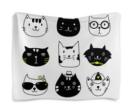 """Гобелен 180х145 """"Милые котики"""" - кот, животные, котики, прикольные коты"""