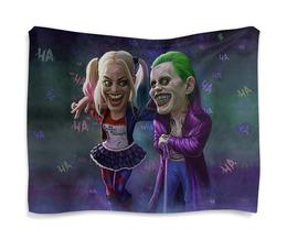 "Гобелен 180х145 ""The Joker&Harley Quinn Design"" - джокер, харли квинн, dc комиксы, отряд самоубийц, суперзлодеи"
