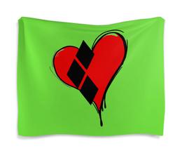 "Гобелен 180х145 ""Сердце"" - сердце, яркий, необычный"
