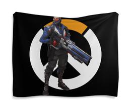 """Гобелен 180х145 """"Overwatch Soldier 76 / Овервотч Солдат 76"""" - игры, overwatch, овервотч, солдат 76, soldier 76"""