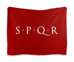 "Гобелен 180х145 ""S.P.Q.R"" - рим, spqr, римская империя"