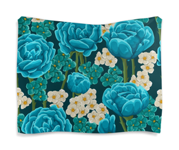 """Гобелен 180х145 """"Красивые цветы"""" - красивые цветы, цветы, природа, ярко, красиво"""