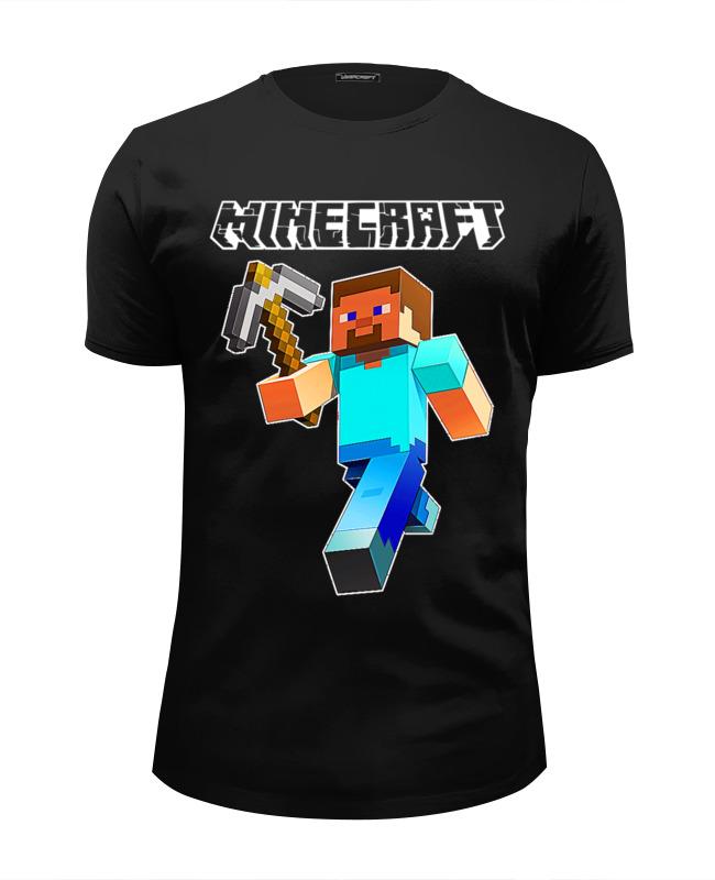 Printio Minecraft футболка wearcraft premium slim fit printio марабу