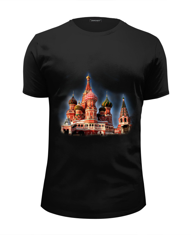 Футболка Wearcraft Premium Slim Fit Printio Москва футболка wearcraft premium slim fit printio совушка