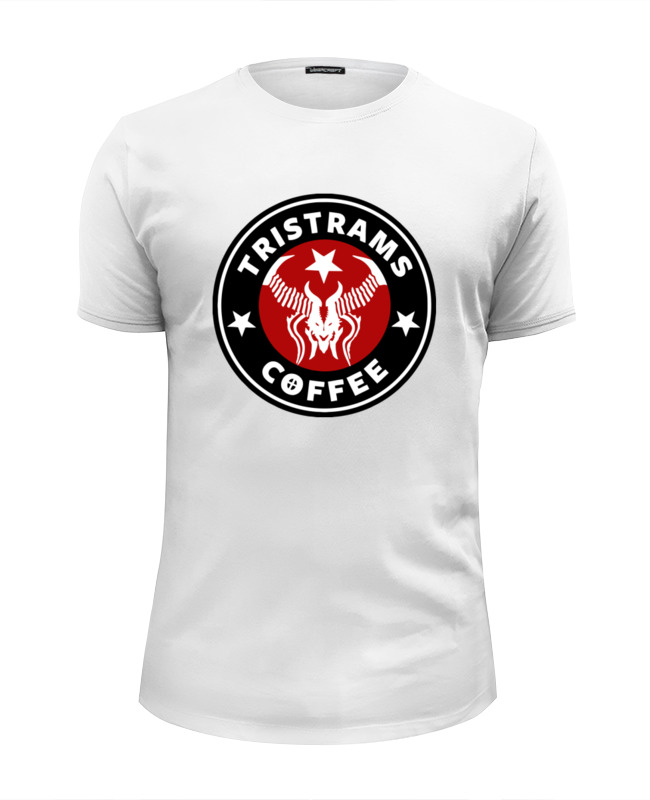 Футболка Wearcraft Premium Slim Fit Printio Tristrams coffee (diablo)