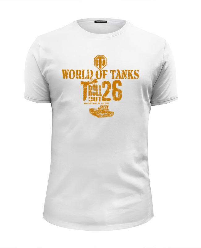 Футболка Wearcraft Premium Slim Fit Printio World of tanks (t-26)