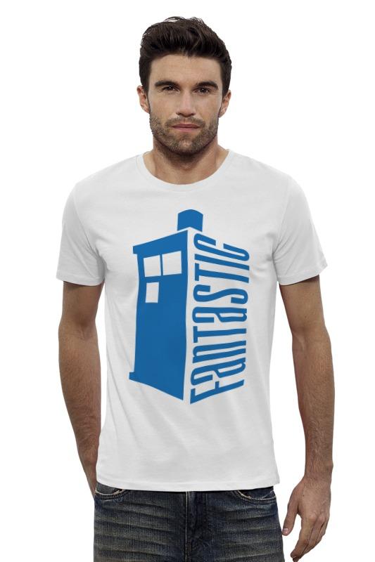 Футболка Wearcraft Premium Slim Fit Printio Тардис (доктор кто) футболка рингер printio тардис доктор кто