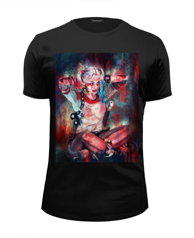 Футболка Wearcraft Premium Slim Fit Printio Харли квинн футболка харли квинн