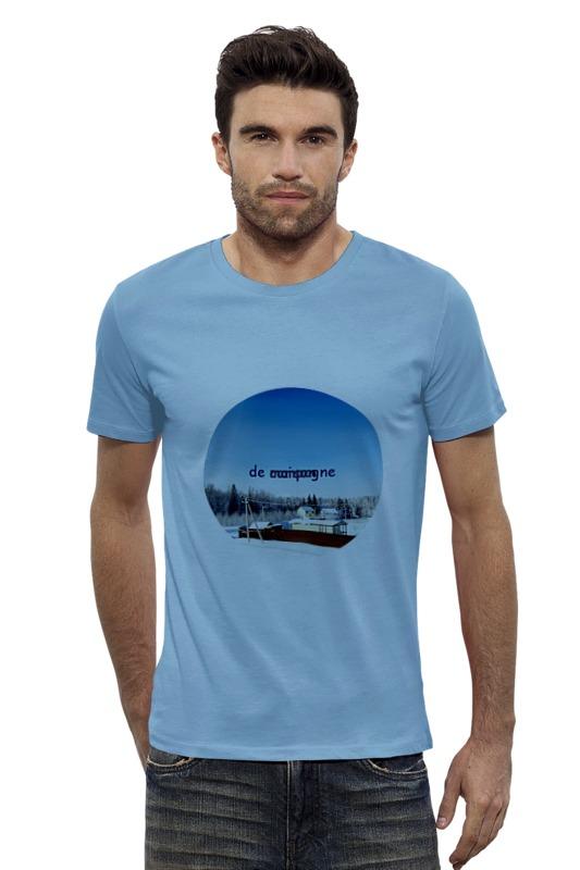 Футболка Wearcraft Premium Slim Fit Printio Зима. мороз. солнце. футболка wearcraft premium printio оранжевое солнце