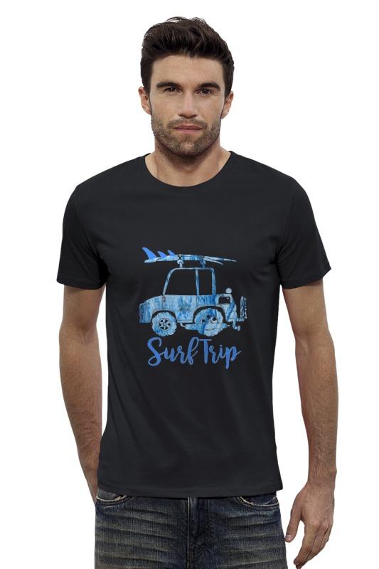 Футболка Wearcraft Premium Slim Fit Printio Surf trip  trip 9s футболка