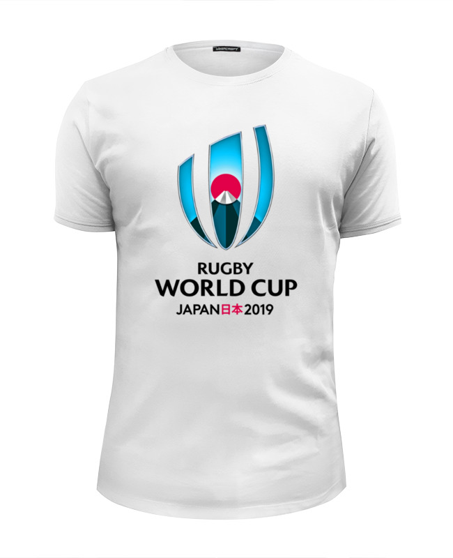 Футболка Wearcraft Premium Slim Fit Printio Rugby world cup 2019 australia france rugby league world cup 2017