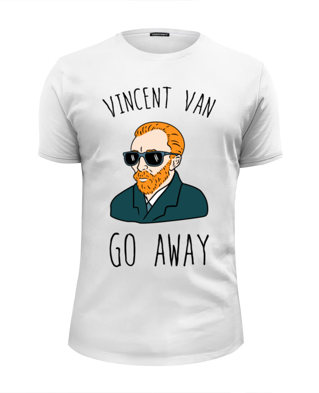 лучшая цена Printio Vincent van go away