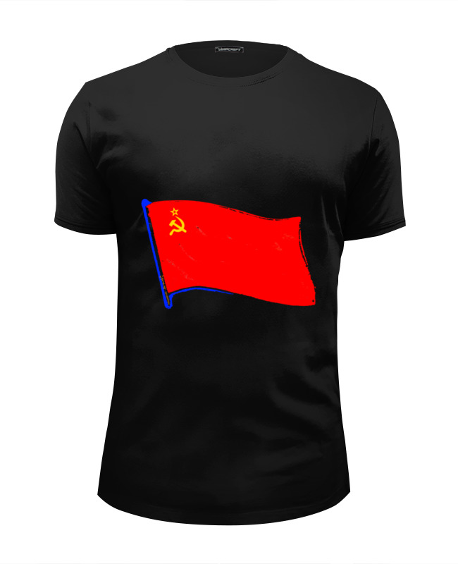 Printio Советский флаг футболка wearcraft premium printio флаг ссср
