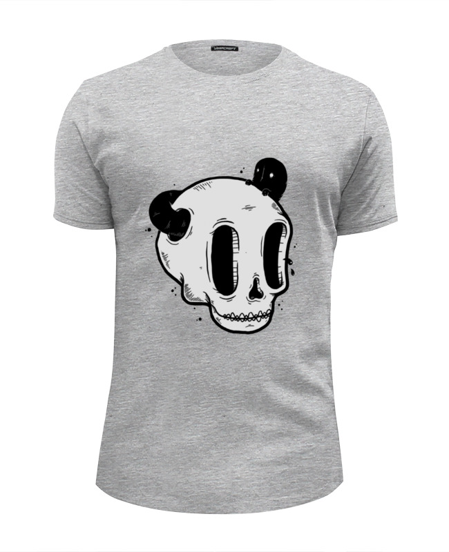 Футболка Wearcraft Premium Slim Fit Printio Skull art
