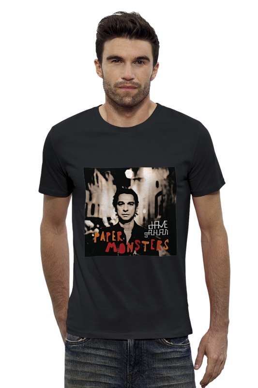 Футболка Wearcraft Premium Slim Fit Printio Dave gahan сумка printio dave gahan on tour 3