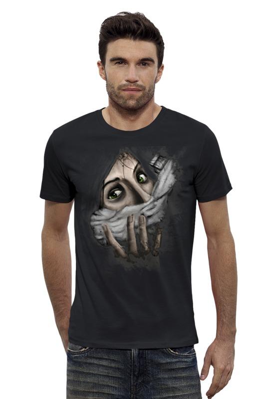 Футболка Wearcraft Premium Slim Fit Printio Art horror футболка wearcraft premium slim fit printio psy art arsb
