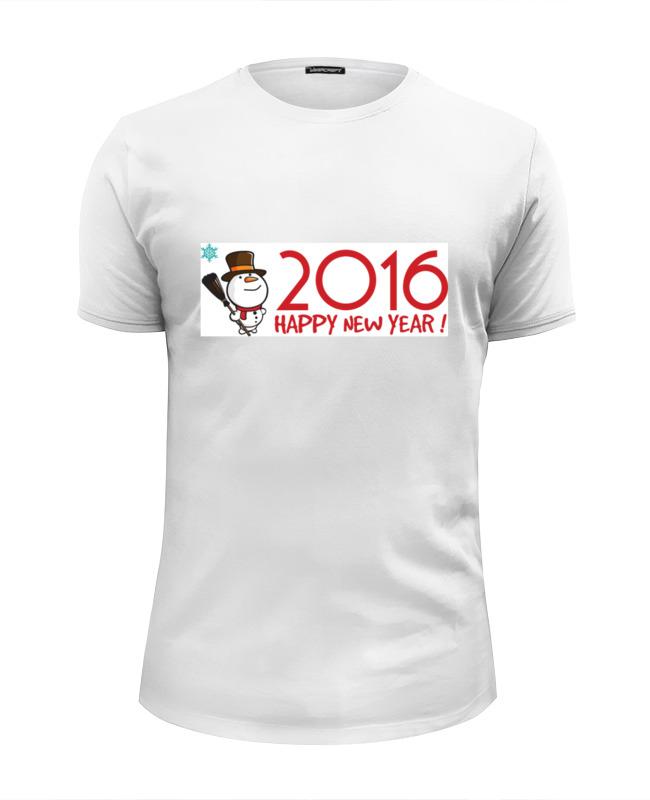 Футболка Wearcraft Premium Slim Fit Printio Снеговик в котелке футболка wearcraft premium slim fit printio снеговик