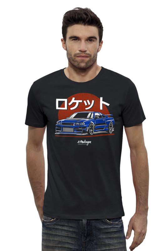 Футболка Wearcraft Premium Slim Fit Printio Nissan skyline r34 футболка wearcraft premium slim fit printio nissan gtr r35