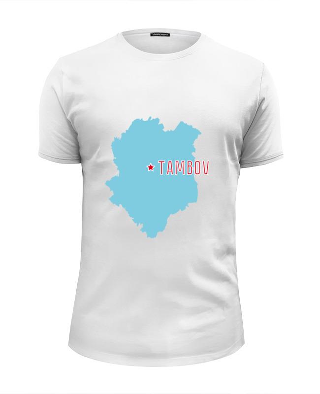 Футболка Wearcraft Premium Slim Fit Printio Тамбовская область. тамбов мокасины baldinini baldinini ba097awzyg29