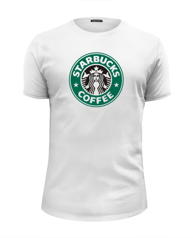 Футболка Wearcraft Premium Slim Fit Printio Starbucks футболка wearcraft premium printio belles book cafe starbucks