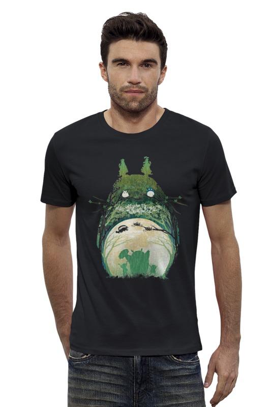 Футболка Wearcraft Premium Slim Fit Printio Тоторо футболка wearcraft premium slim fit printio тоторо