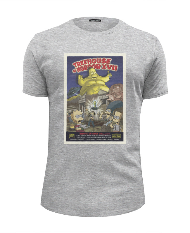 Футболка Wearcraft Premium Slim Fit Printio Simpsons / симпсоны цена