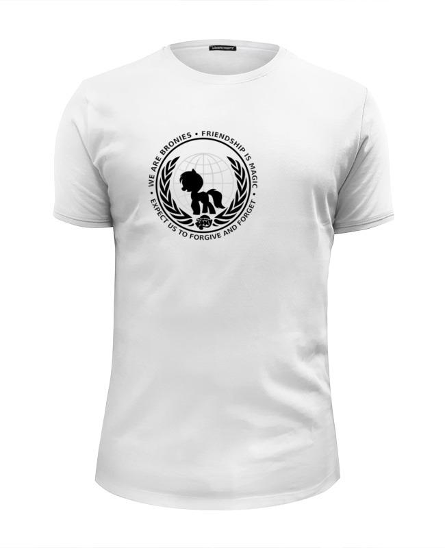 Футболка Wearcraft Premium Slim Fit Printio We are bronies футболка wearcraft premium slim fit printio you are my person