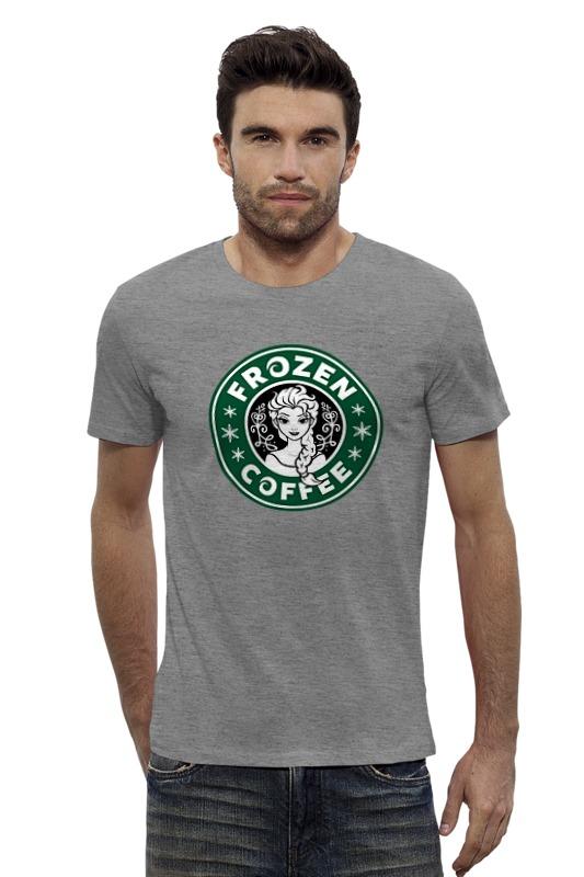 Футболка Wearcraft Premium Slim Fit Printio Frozen coffee футболка wearcraft premium slim fit printio coffee time время кофе