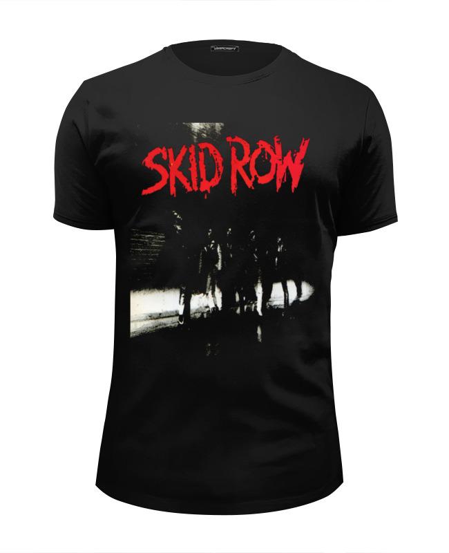 Футболка Wearcraft Premium Slim Fit Printio Skid row футболка wearcraft premium slim fit printio saints row игра профессор генки