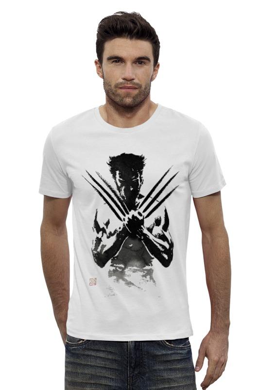 Футболка Wearcraft Premium Slim Fit Printio Росомаха футболка wearcraft premium slim fit printio the wolverine росомаха
