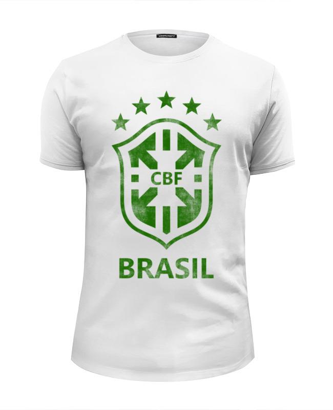 Printio Сборная бразилии футболка wearcraft premium slim fit printio walkman