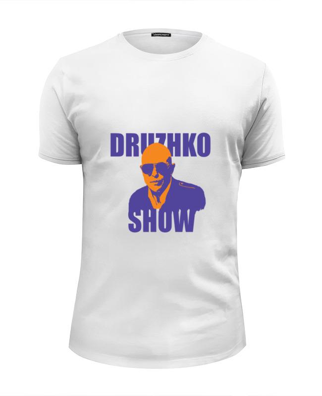 Футболка Wearcraft Premium Slim Fit Printio Druzhko show футболка lin show 367