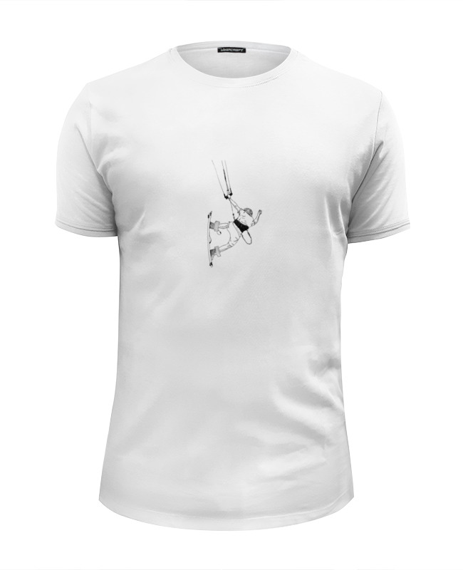 Printio Кайтер, прыжок, графика футболка wearcraft premium printio кайтер в бокале