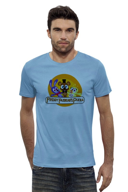 Футболка Wearcraft Premium Slim Fit Printio Five nights at freddy майка классическая printio five nights at freddy
