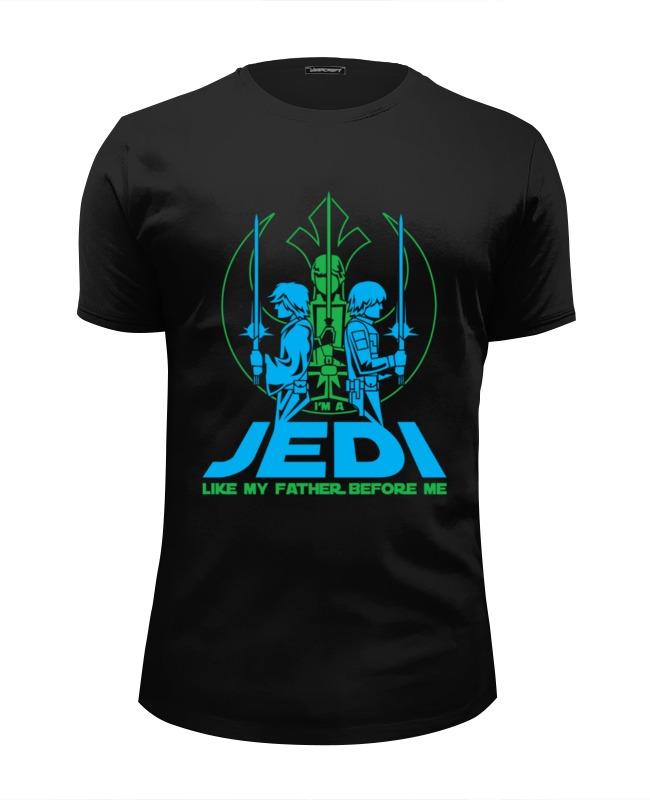 Футболка Wearcraft Premium Slim Fit Printio Джедай (jedi) футболка wearcraft premium printio jedi knights
