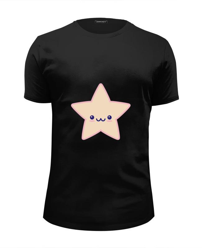 Футболка Wearcraft Premium Slim Fit Printio Няшная звезда детская футболка классическая унисекс printio няшная звезда