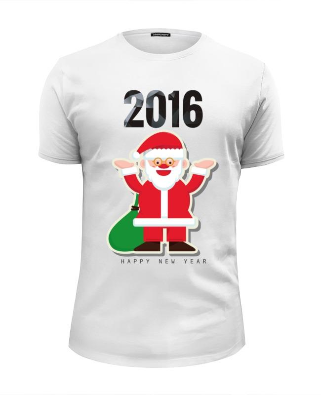 Футболка Wearcraft Premium Slim Fit Printio Новый 2016 год!