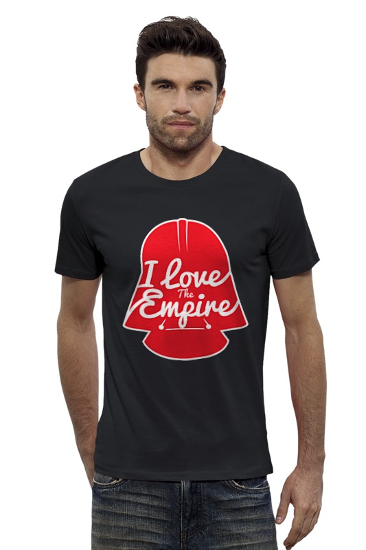Футболка Wearcraft Premium Slim Fit Printio Love the empire футболка wearcraft premium slim fit printio empire needs you