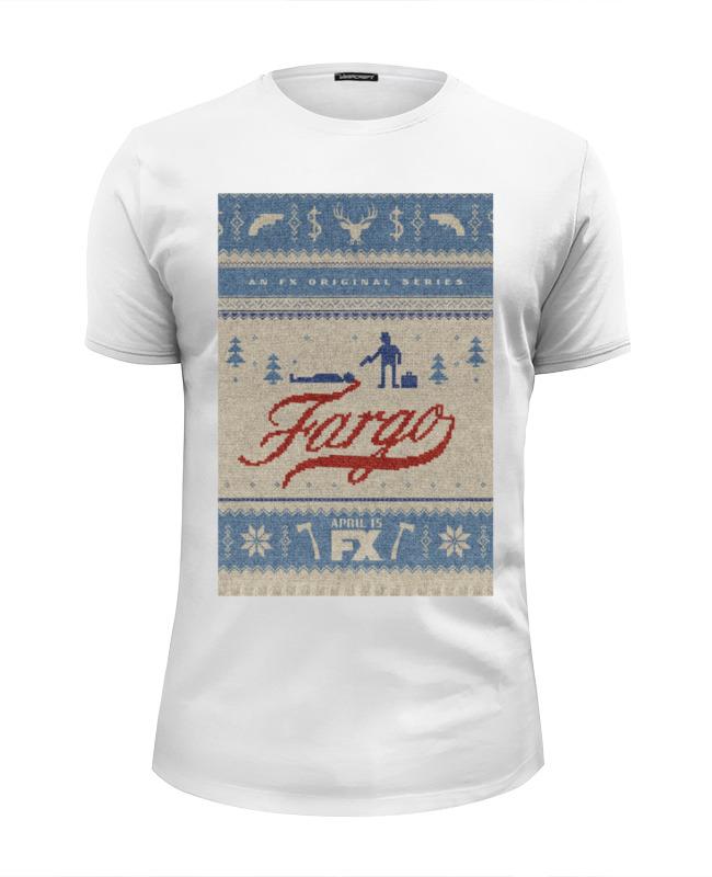 Футболка Wearcraft Premium Slim Fit Printio Фарго / fargo майка классическая printio fargo фарго