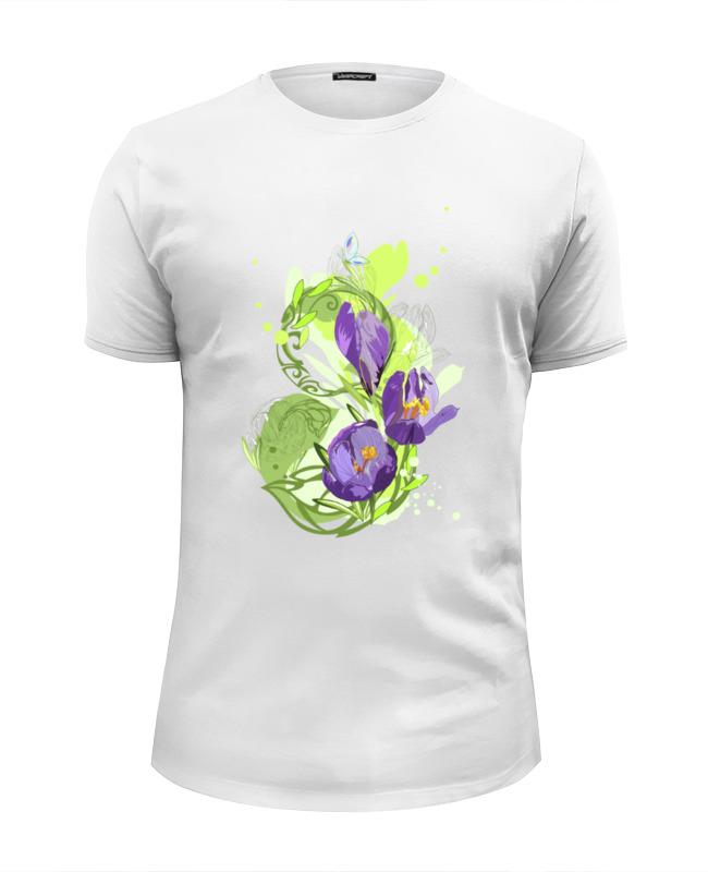 Футболка Wearcraft Premium Slim Fit Printio 8 марта! футболка wearcraft premium slim fit printio 8 марта бриллианты